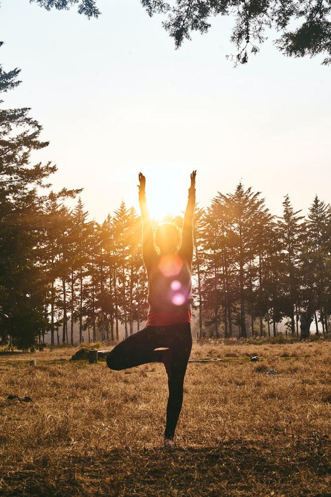 Yoga im Freien Innsbruck